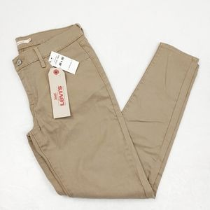 Levis 710 Super Skinny Khaki Jeans